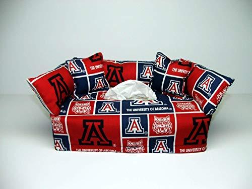 University of Arizona Tissue Box cover. Includes Tissue