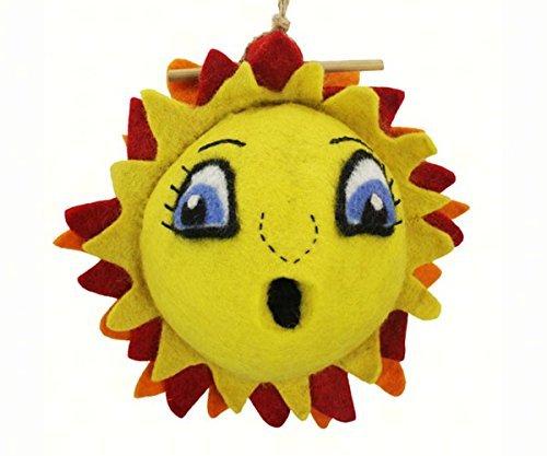 DZI DZI DZI Handmade Designs DZI484036 Sunshine Felt Birdhouse by 7fe13b