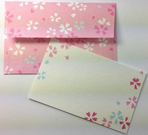 Daiso Japan Message Card Set Washi (Sakura) Photo #2