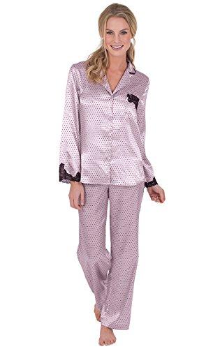 Womens 100% Silk Pajama - 5