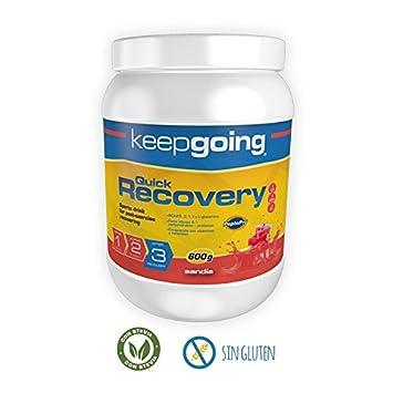 Keepgoing Quick Recovery · Bebida recuperadora · Bote de 600g. Sandía.: Amazon.es: Deportes y aire libre