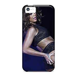 Iphone 5c Het13577VUus Provide Private Custom Beautiful Rihanna Pictures Perfect Hard Phone Cover -Marycase88