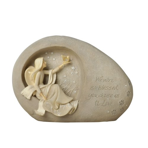 Enesco Foundations Pet Memorial Figural Plaque