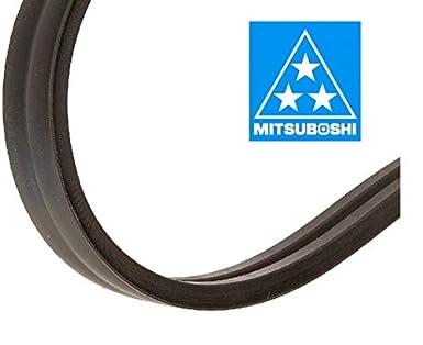 Fractional Horsepower V-Belt 40 Length 2400 Rubber 5//16 Height 4L Section MBL 4L400 1//2 Width