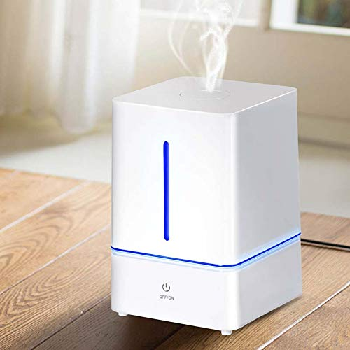 Safeplus Hybrid Humidifiers 4L Cool Mist Ultrasonic Humidifier for Bedroom or Baby's Room with Remote and Humidity Monitor Vaporizer for Large Room Home Waterless Auto Shut-Off by Safeplus (Image #2)