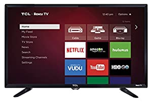 TCL 28S3750 28-Inch 720p Roku Smart LED TV (Certified Refurbished)