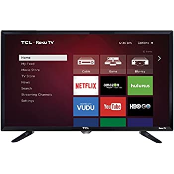 TCL 28S3750 28-Inch 720p Roku Smart LED TV (2015 Model)