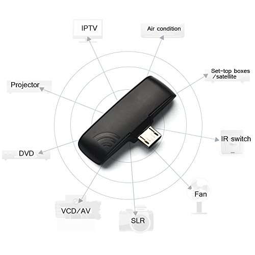 KKmoon Universal IR Appliances Wireless Infrared Remote Controller Adapter  Zazaremote for OTG Android Mobile Cellphone Samsung S5 S4 Google LG