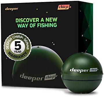 Deeper Unisexs DP3H10S10 Fishfinder Groen One size