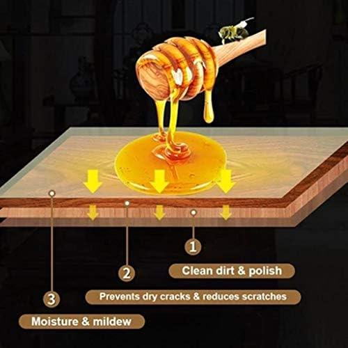 Organisches natürliches reines Bienenwachs wasserdichte verschleißfeste Wachssicherheitsmöbelpflegeholztisch-Schranktür (3 Flaschen)