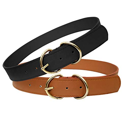 Aakriti Women's Synthetic Belt (Pack of 2)