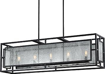 Trans Globe Lighting 1055 BN Indoor Cadance 26 Chandelier, Brushed Nickel