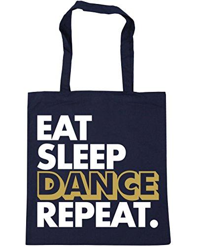 x38cm HippoWarehouse Bag Dance 10 Eat Navy Tote Gym Sleep litres 42cm Shopping French Repeat Beach vSvfrwq