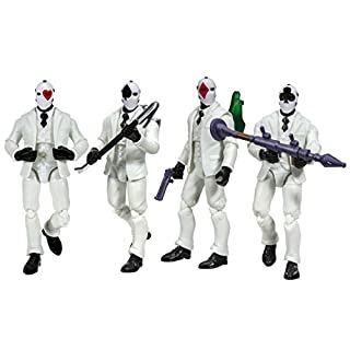 Fortnite Squad Mode 4 Figure Pack, Highstakes (Amazon Exclusive)