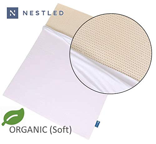 Organic 100% Natural Latex Mattress Topper - Soft Firmness - 2