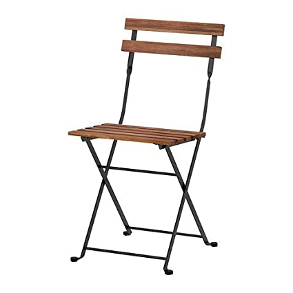 Set Tavolo E Sedie Da Giardino Ikea.Ikea Tarno Folding Chair Acacia And Steel Solid Wood Garden