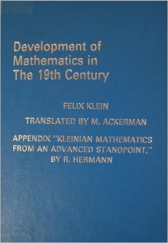 Development of Mathematics in the 19th Century (Lie Groups) (English ...