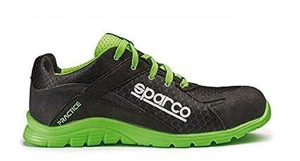 Sparco 0751742NRVF Zapatillas Negro Verde 42  Amazon.es  Coche y moto 4db7b4a2cdb