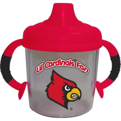 Lil Louisville Cardinals Fan No Spill Sippy Cup
