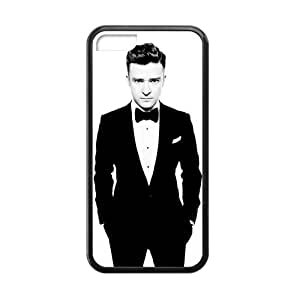 iPhone 5c Case, [justin timberlake] iPhone 5c Case Custom Durable Case Cover for iPhone5c TPU case (Laser Technology)
