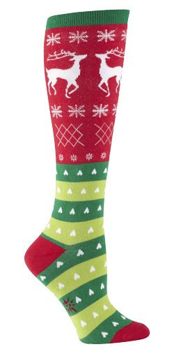 TACKY HOLIDAY SWEATER Knee Socks