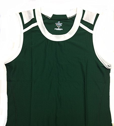 Russell Athletic Womens Jersey Tank (2X, GREEN)