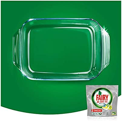 FAIRY Platinum All in One - Cápsulas para lavavajillas, Pack de ...