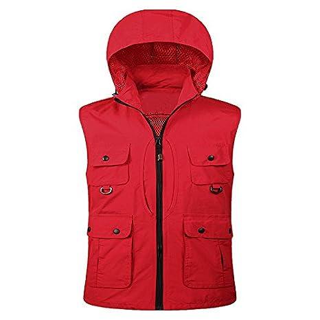 Casual Sudadera con Capucha Pocket. Publicidad Workwear Chaleco, 3-XL: Amazon.es: Deportes y aire libre