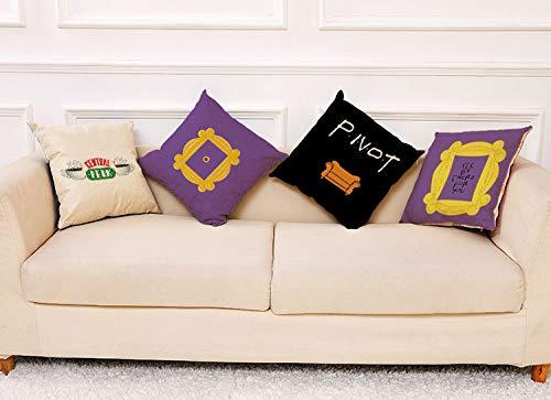 Amazon.com: HomeWelt - Funda de cojín para sofá de 18.0 x ...