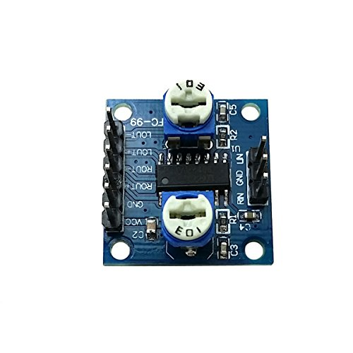 Ecloud Shop 10 PCS PAM8406 MiNi Amplifier Board Module(5W+5W) D Class Amplifier Board by Ecloud Shop