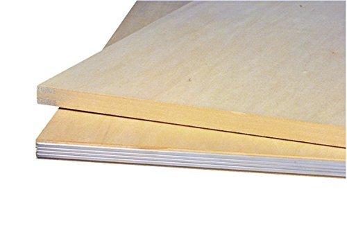 - Jack Richeson 400432-03 Ultra Lite Aluminum Edge Basswood Drawing Board, 3/4