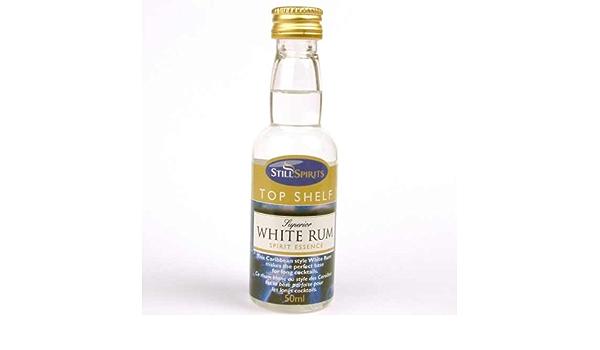Ron blanco, bebida alcohólica de Top Shelf: Amazon.es: Hogar