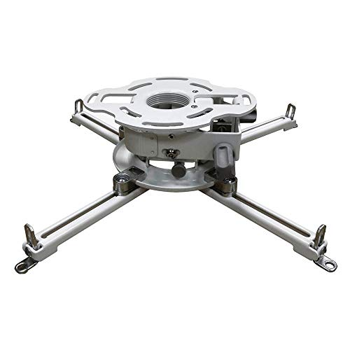 Peerless PRG-UNV-W Precision Gear Universal Projector Mount - White (Discontinued by ()