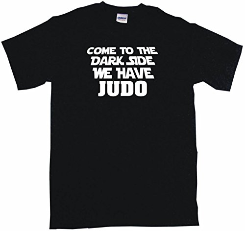 99 Volts Come to The Dark Side We Have Judo Men's Tee Shirt 4XL-Black