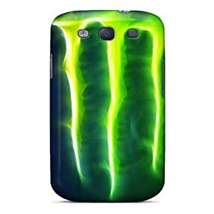 New Premium Mialisabblake Monster Enegry Logo Skin Case Cover Excellent Fitted For Galaxy S3