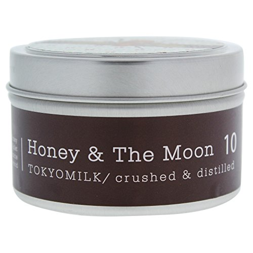 Margot Elena Tokyo Milk Honey and The Moon Crushed and Distilled Tin Travel Candle, Delightful Fragrance, 4 Ounce ()