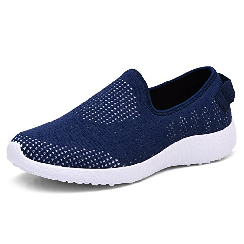 TIOSEBON Men Go Easy Running Sneakers 8255 Navy