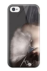 High Quality Marie K Floyd Cgi 3d Skin Case Cover Specially Designed For Iphone - 4/4s