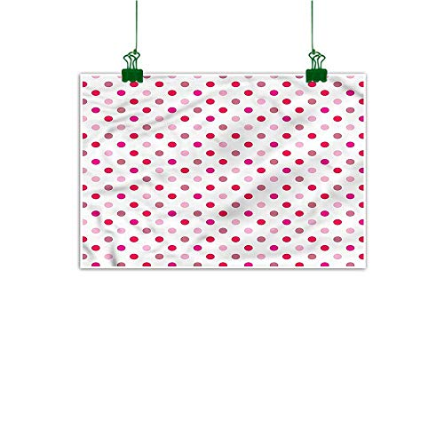 - duommhome Wall Stickers Polka Dots Hand Painted Regular Array of Dots 20