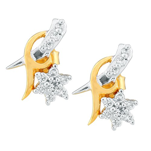 0.167 Ct Diamond Earrings - 6