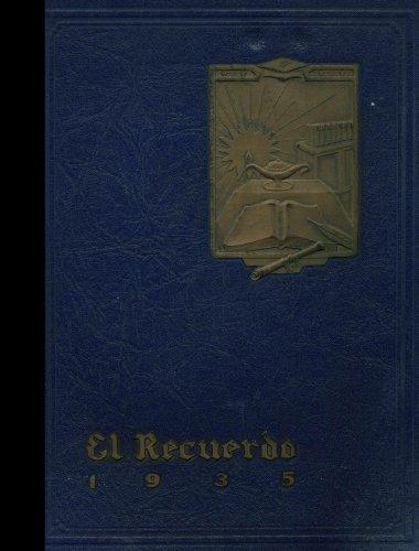 (Reprint) 1935 Yearbook: Huntington Park High School, Huntington
