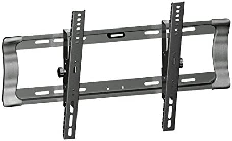 Universal Tilting TV Wall Mount – Slim Quick Install VESA Mounting Bracket for TV Monitor, Mounts 26 to 42 Inch HDTV, LED, LCD, Plasma, Flat, Ultrawide Smart Television Up to 60 KG – Pyle PSW323ST