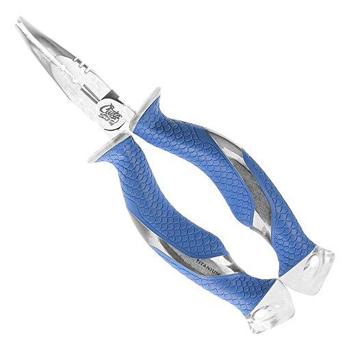 (Cuda 7-Inch Titanium Bonded Ring Splitter, Blue)