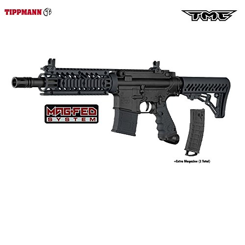 Accessories Tippmann 98 Model (Tippmann TMC MAGFED Paintball Marker - Black 16402)