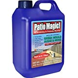 Value Pack of 2 (Savings on Postage) - Patio Magic! 5 Litres Liquid Concentrate Mould, Algae and Moss Killer