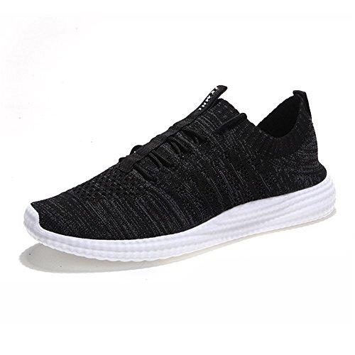 Greaten , Chaussures de running pour homme Noir