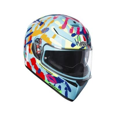 K-3 SV Misano 2014 HANDS FULL FACE HELMET SIZE XXL DOT