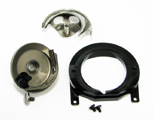 Bernina Sewing Machine Parts Bobbin Case & Mount Shuttle Hook Assembly ()