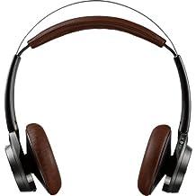 Plantronics 202649-01 Backbeat Sense Stereo Bluetooth Wireless Headphones - Black/Espresso