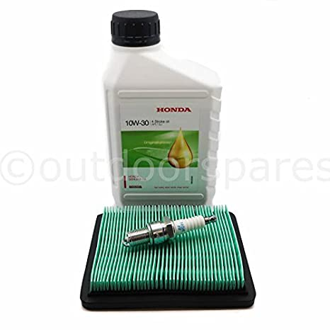 Honda Izy cortacésped servicio Kit, auténtica 10 W30 aceite ...